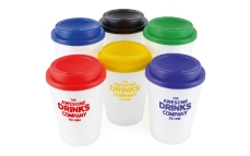 Take out style travel mugs